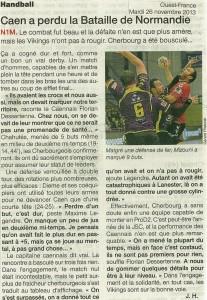 Caen - Cherbourg 26.11.13
