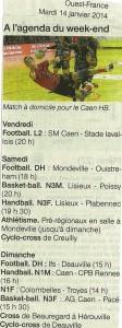 Caen HB 14.01.14