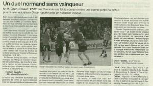 Caen HB - Oissel 24.02.14