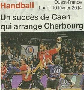 Caen HB- Saran 10.02.14 (1)