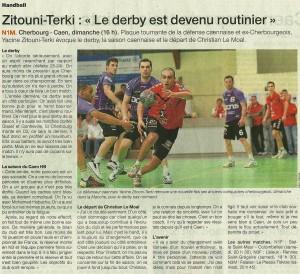 Cherbourg - Caen 13.04.14