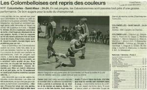 Colombelles - St-Maur 25.11.13