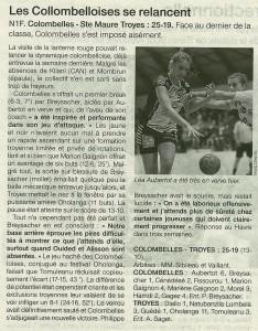 Colombelles - Ste Maure Troyes 21.01.14