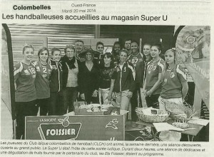 Colombelles Super U 20.05.14