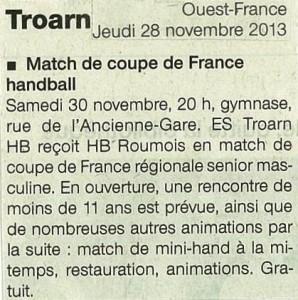 Coupe de France 30.11.13