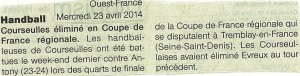 Coupe de France Avril 2014