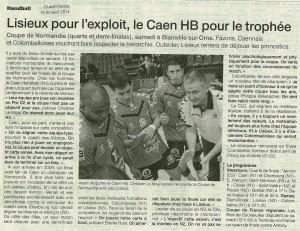Coupe de Normandie 19.04.14