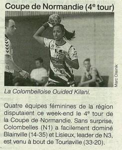 Coupe de Normandie 24.02.14