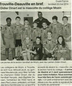 Didier Dinart Collège Mozin