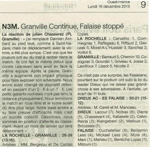 Dreux AC - Falaise N3M 16.12.13
