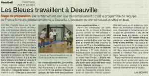 Equipe de France Féminine Avril 17.04.2014
