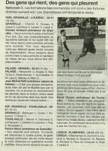 Falaise - Vernon N3M 21.01.14