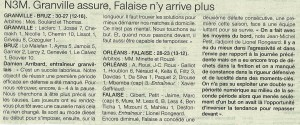 Granville - Falaise N3M 24.02.14