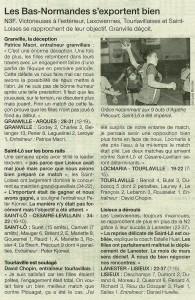 Lanester - Lisieux N3F 17.02.14