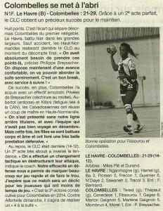 Le Havre - Colombelles 10.02.14