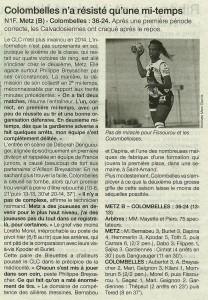 Metz - Colombelles 10.03.14