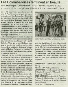 Montargis - Colombelles 19.05.14