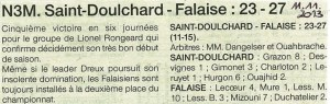 St Doulchard - Falaise N3M 11.11.2013