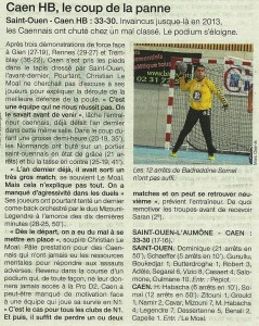 St-Ouen - Caen HB 03.02.14