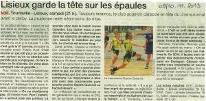 Tourlaville -Lisieux N3F 10.11.2013