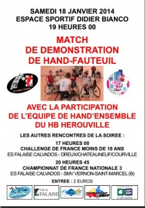 affiche handfauteuil