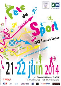 Affiche Fete du sport 2014