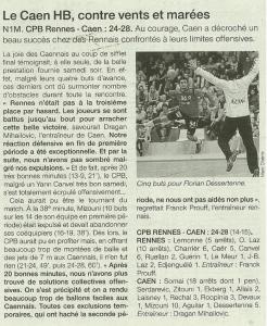 Caen N 1 24-11-14