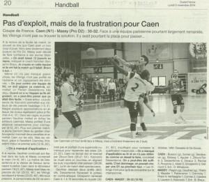 Caen hb 03-11-14