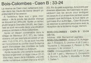 Caen n3 B 10-11-14