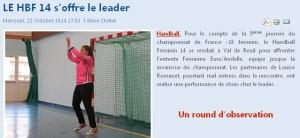 hbf 14 s offre le leader